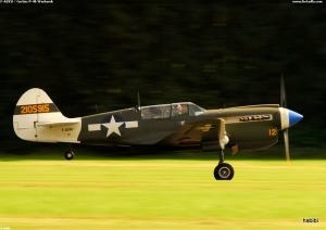 F-AZKU / Curtiss P-40 Warhawk