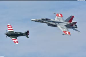 Minulost a současnost Swiss Air Force